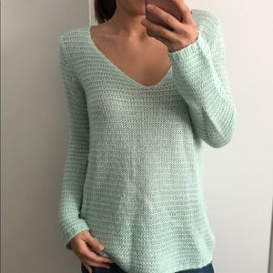 H&M Mint Green Sweater